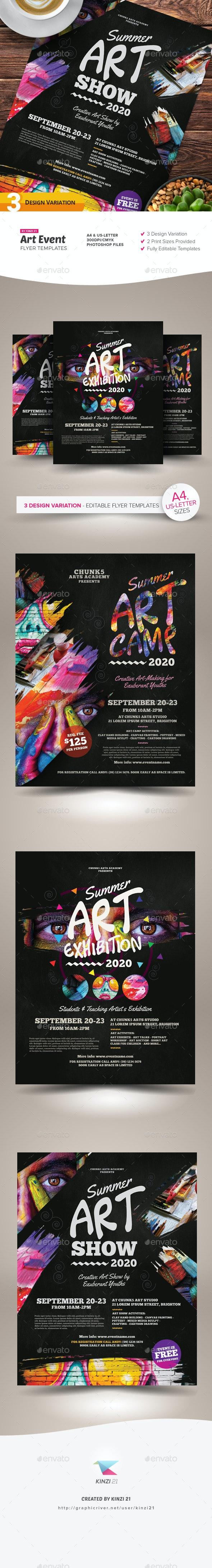 Art Event Flyer Templates - Miscellaneous Events