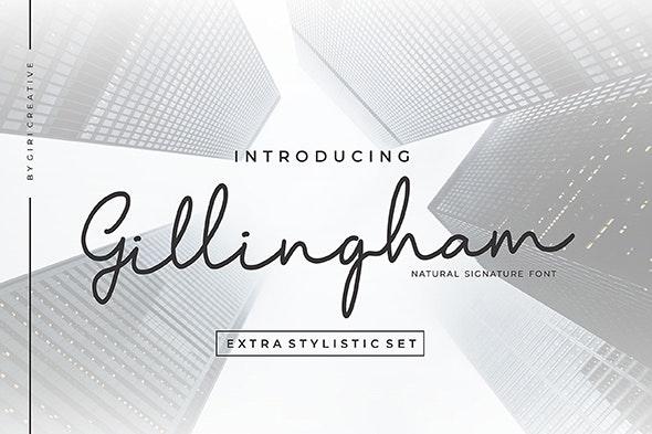 Gillingham - Hand-writing Script