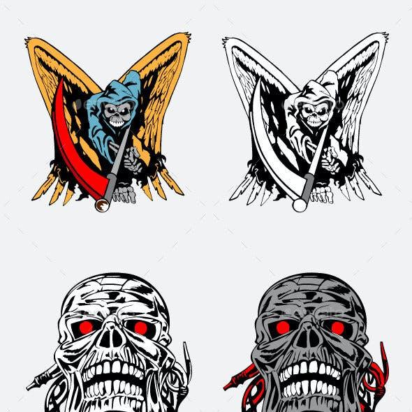 Skull Victor Design Bundle Pack