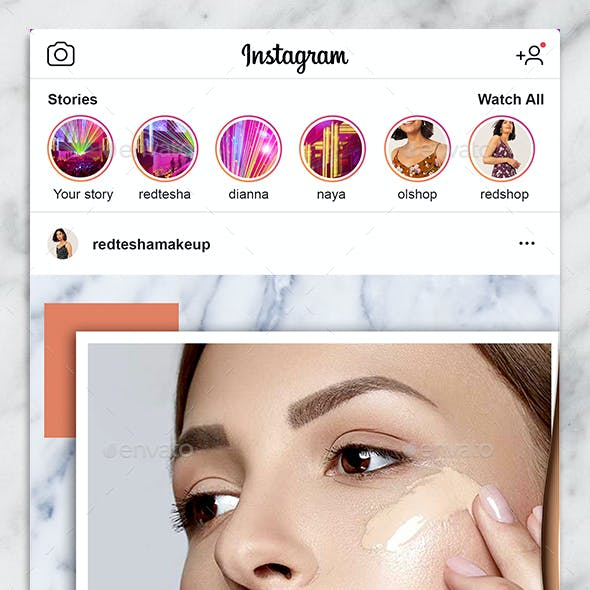 Instagram Puzzle Feed / Grid Template