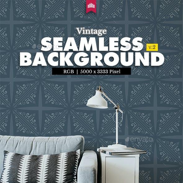 Vintage Seamless Pattern Background