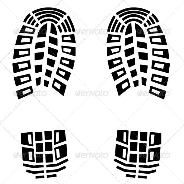 Foot Step Icon - Man-made Objects Objects