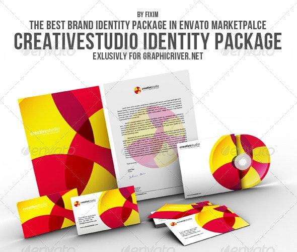 CreativeStudio Identity Package - Stationery Print Templates