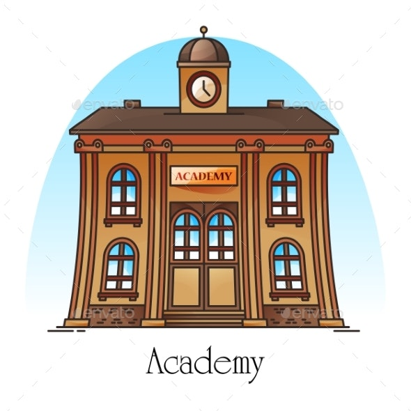 National Science Academy or Education Building - Buildings Objects
