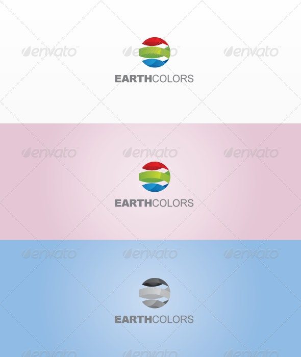Earth Colors - Vector Abstract