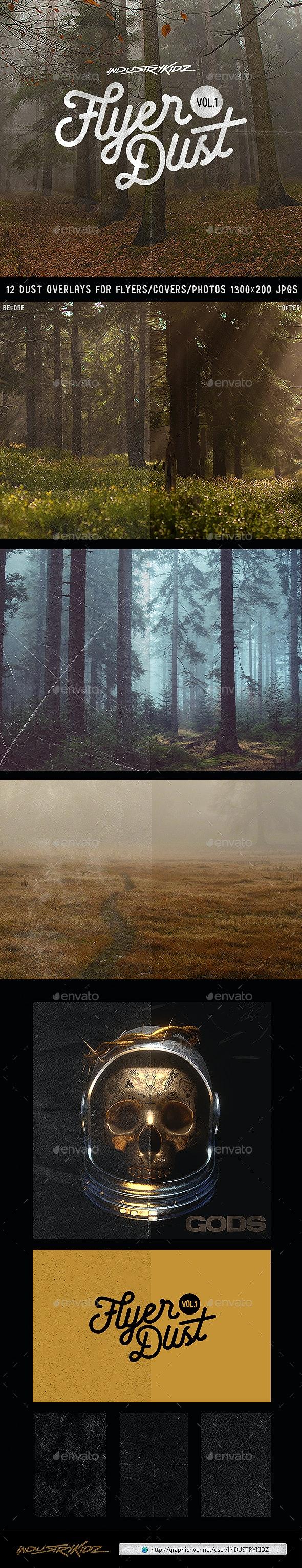 Flyer Dust V1 - Miscellaneous Backgrounds