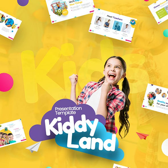 Kiddyland Fun Education PowerPoint Presentation Template