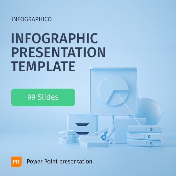 INFOGRAPHICO - Modern Infographic Template - Business PowerPoint Templates