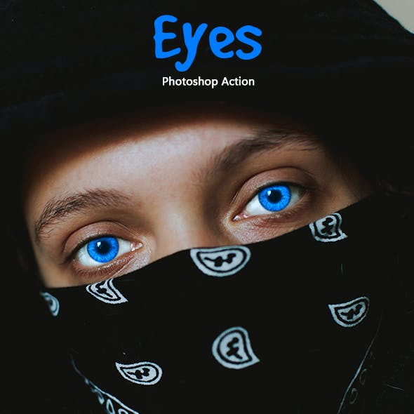 Eyes Photoshop Action