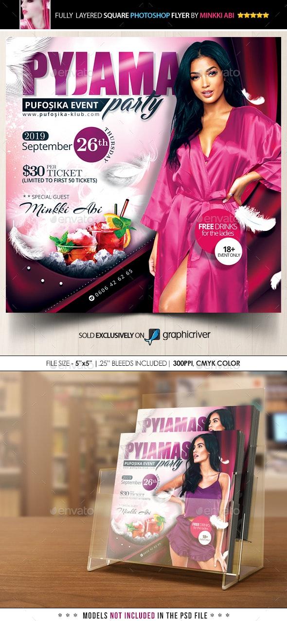 Pyjama Party Flyer - Events Flyers