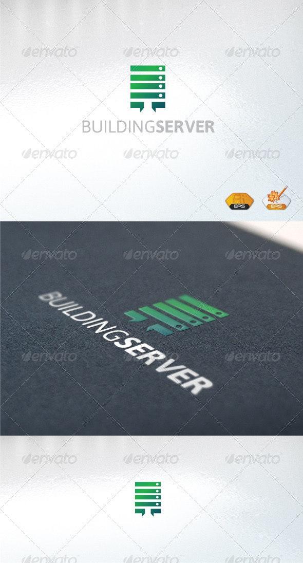 Buildingserver - Abstract Logo Templates