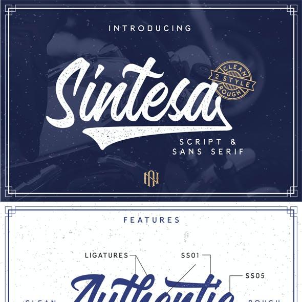 Sintesa - Script And Sans Serif