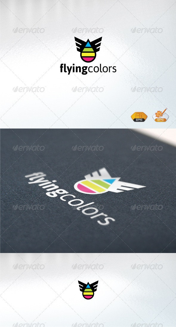 Flyingcolors - Abstract Logo Templates