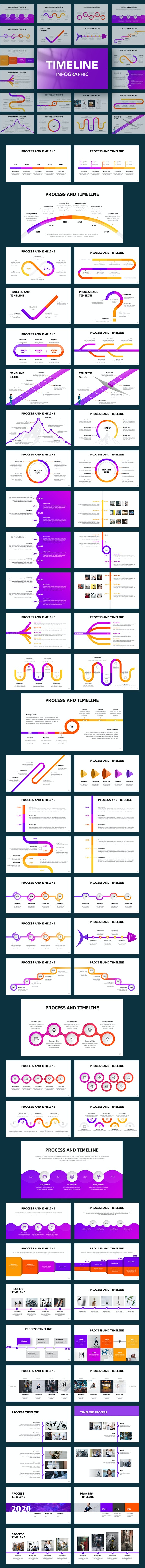 Timeline Infographic - Pitch Deck PowerPoint Templates