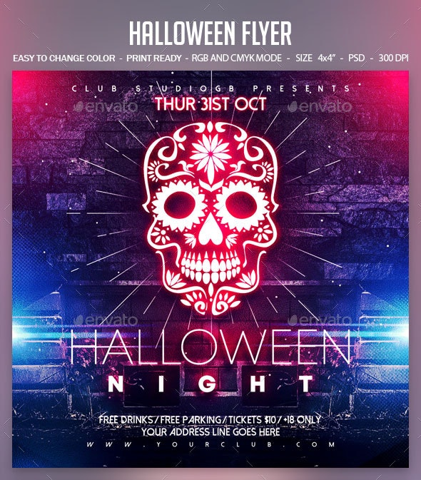 Halloween - Clubs & Parties Events