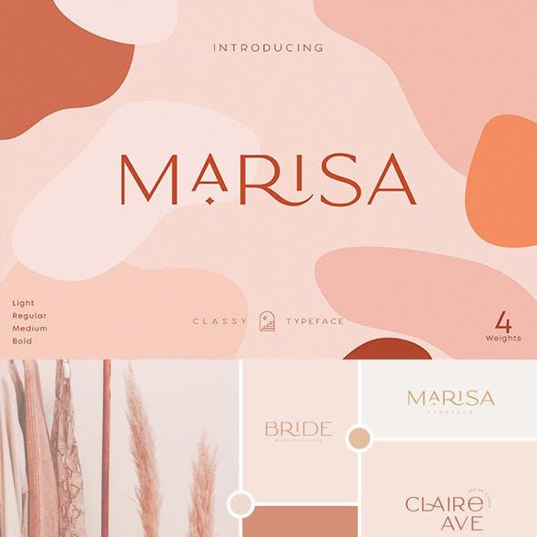 Classy Marisa - Modern Elegant Typeface