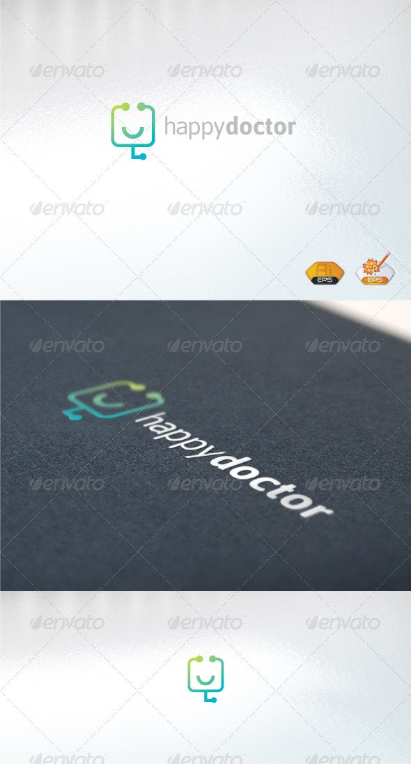happydoctor - Humans Logo Templates