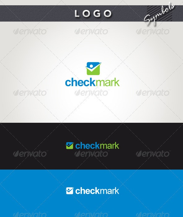 Check Mark Logo - Symbols Logo Templates