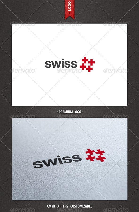 Swiss Logo Template - Symbols Logo Templates