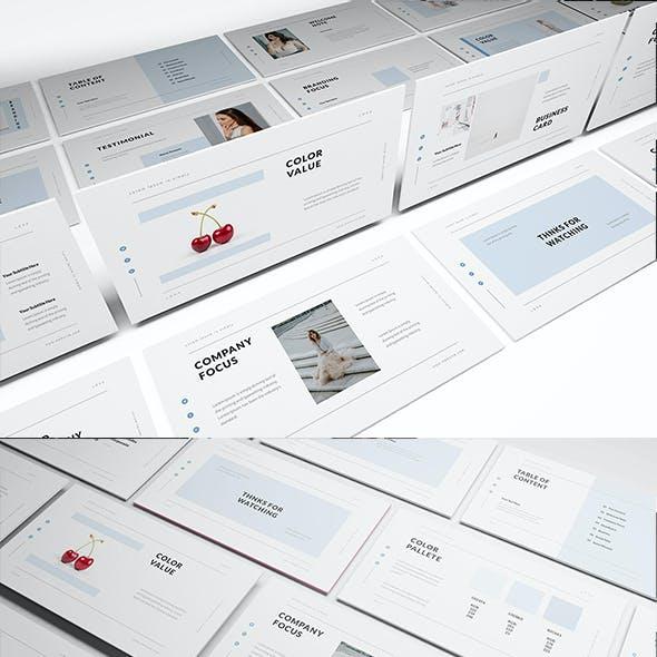 Loka Brand Guideline Powerpoint Template