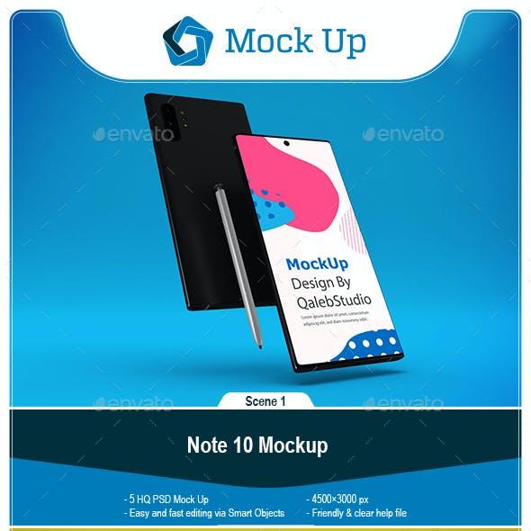 Note 10 Mockup