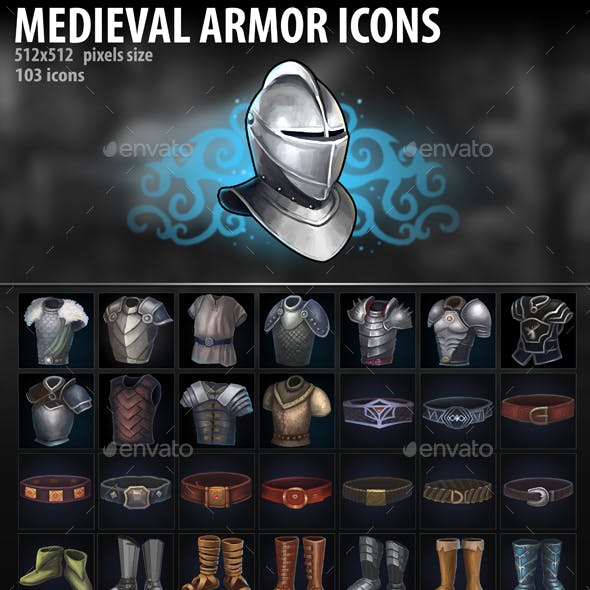 Medieval Armor Icons