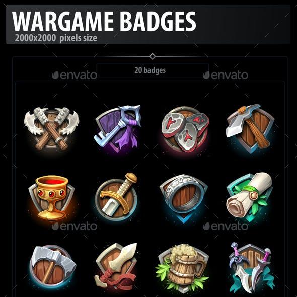 Wargame Badges