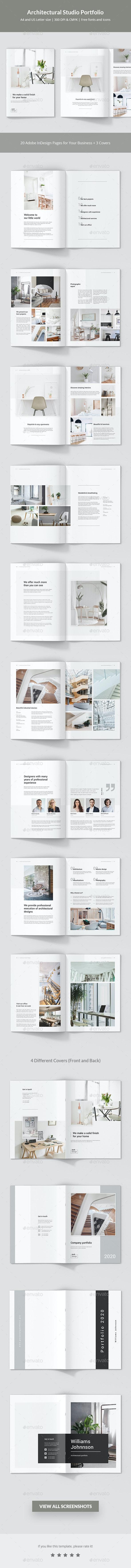 Architectural Studio Portfolio - Portfolio Brochures