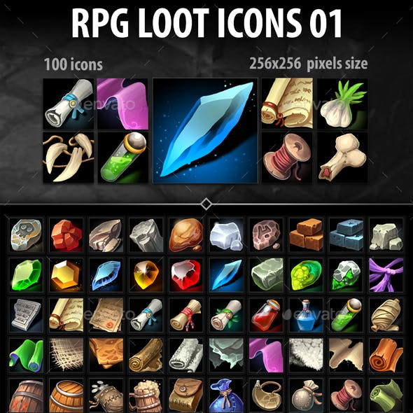 RPG Loot Icons 01
