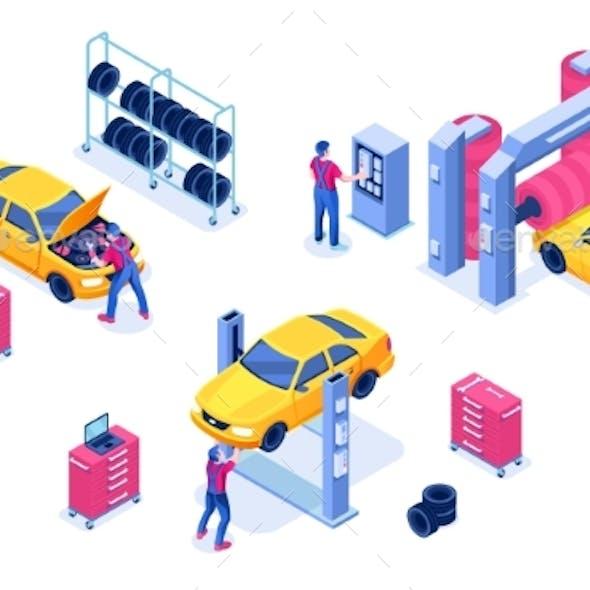 Car Service Auto Maintenance Garage