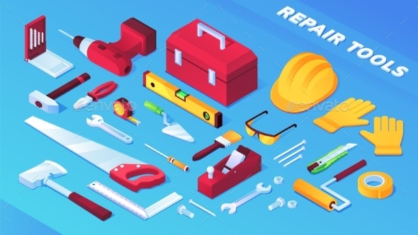 Tools for Building and Repair or Builder Items - Man-made Objects Objects