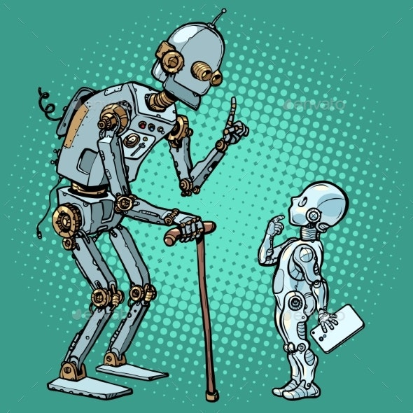 Old and New Robot - Miscellaneous Characters