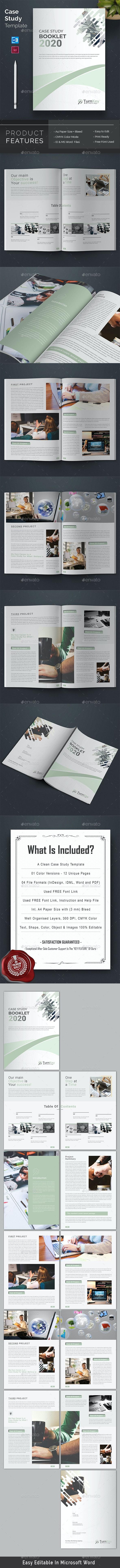 Case Study Booklet - Brochures Print Templates