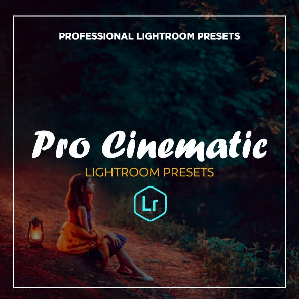 20 Cinematic Collection Lightroom Presets