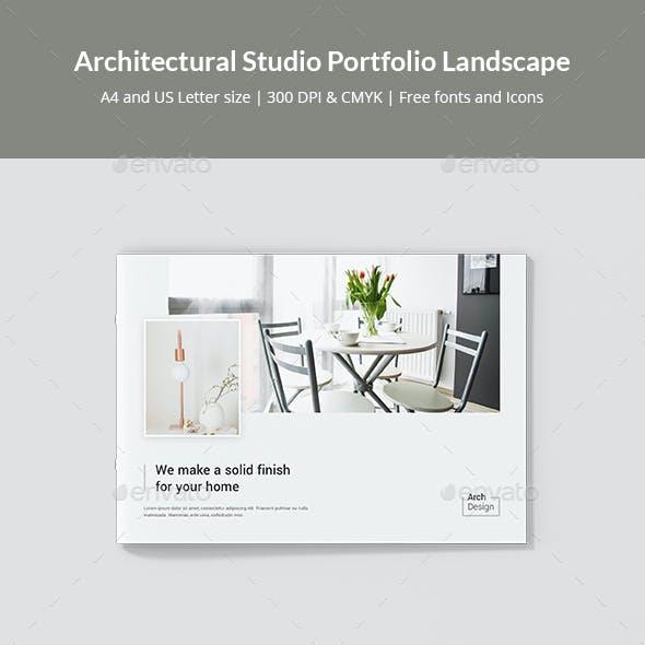 Architectural Studio Portfolio Landscape