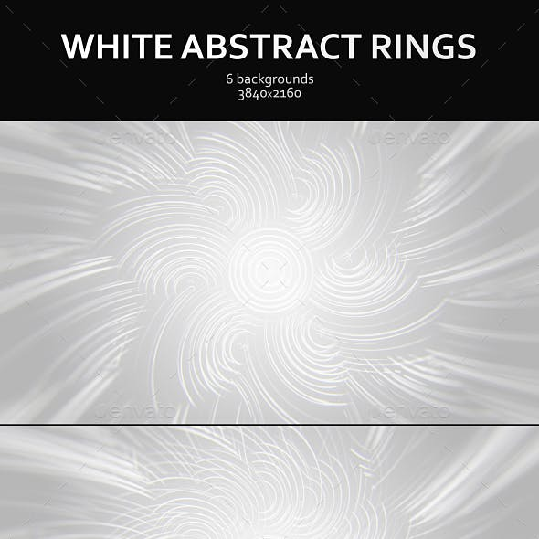 White Abstract Rings