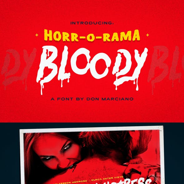 Bloody Scary Font