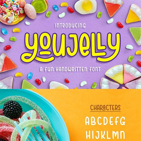 Youjelly Font