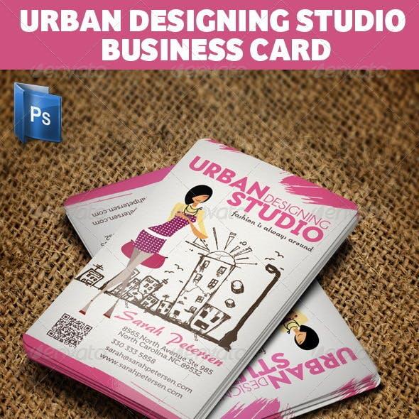 Urban Fashion Studio Business Card