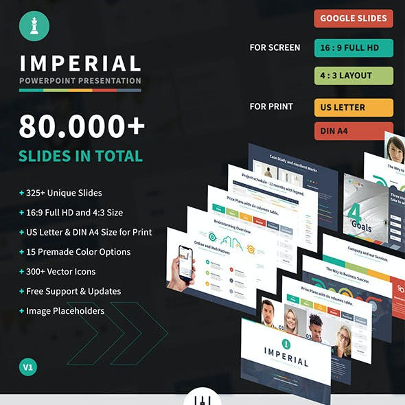 Imperial - Multipurpose Google Slides Template