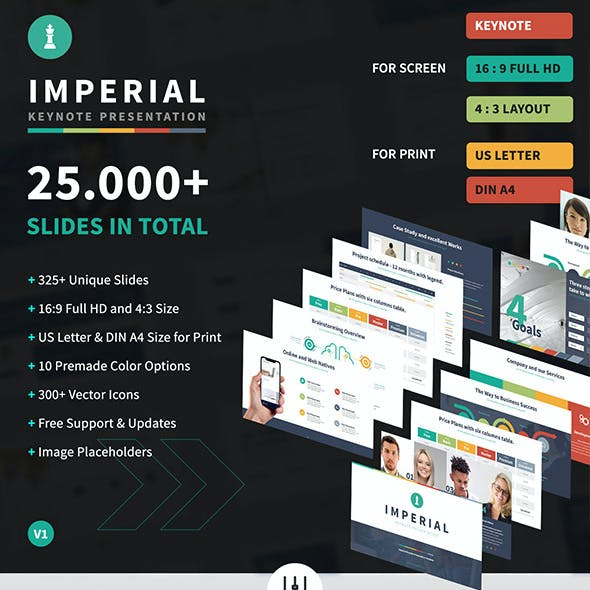 Imperial - Multipurpose Keynote Template