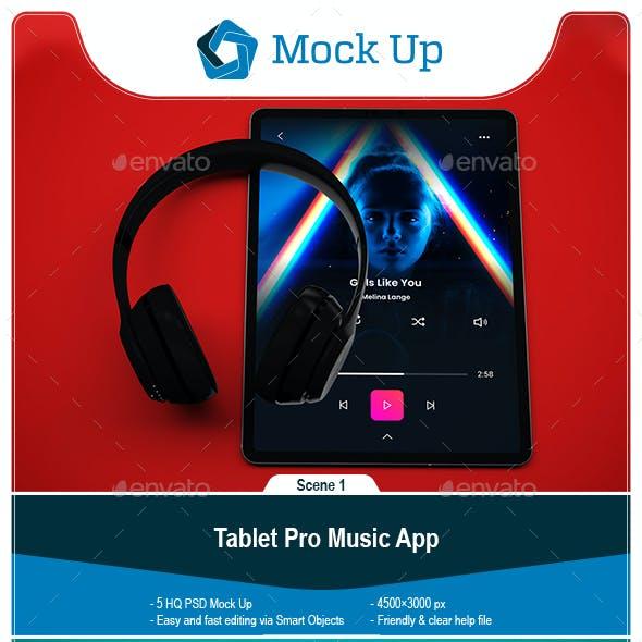 Tablet Pro Music App