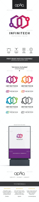 Infinity Box Technologies Logo - Symbols Logo Templates