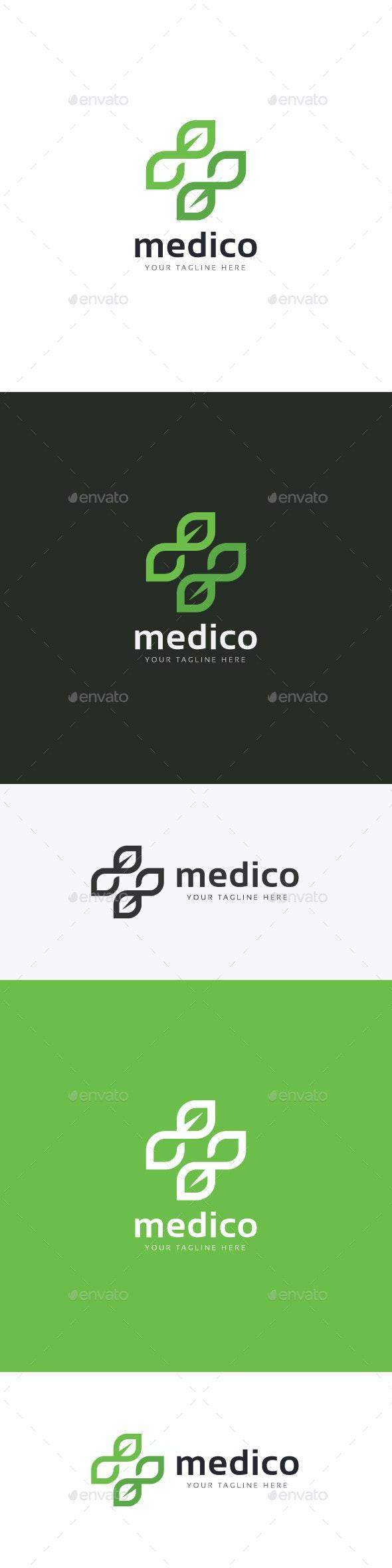 Medical Eco Logo - Nature Logo Templates