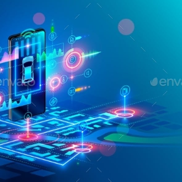 Isometric Virtual Abstract Interface