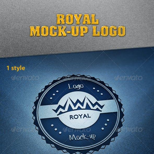 Royal Mock-Up Logo