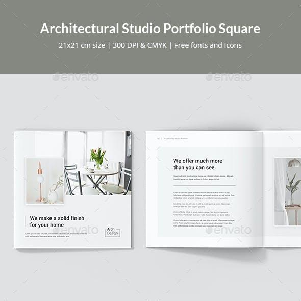Architectural Studio Portfolio Square