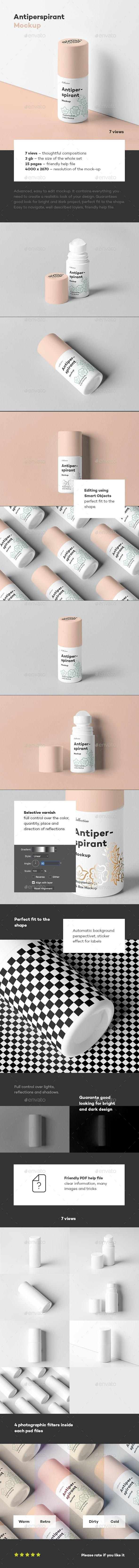 Antiperspirant Mockup 2 - Beauty Packaging