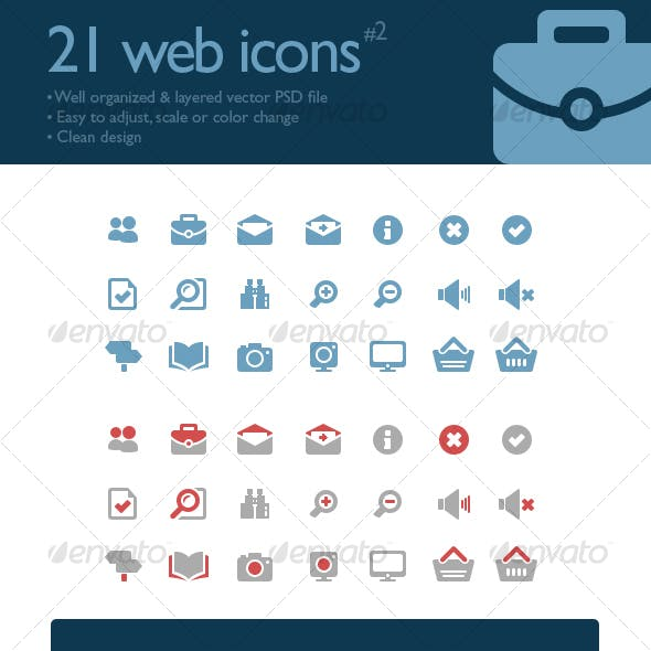 21 web icons #2