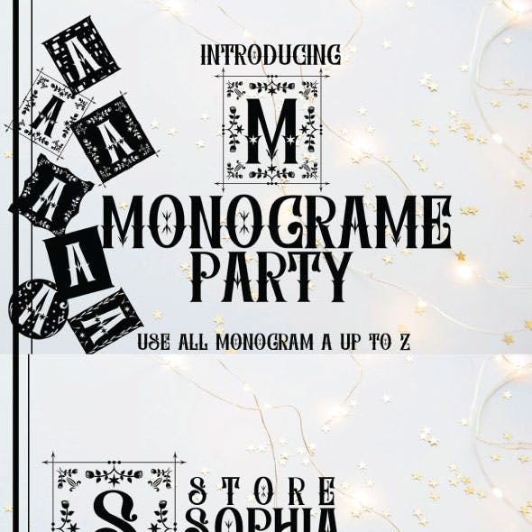 MONOGRAME PARTY